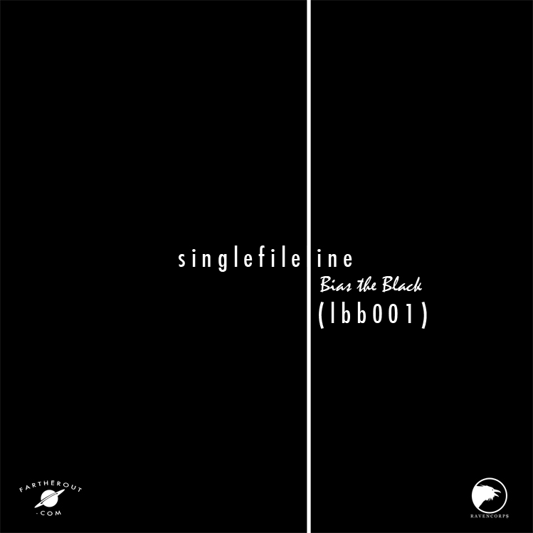 Bias the Black - singe file line (lbb001) Art